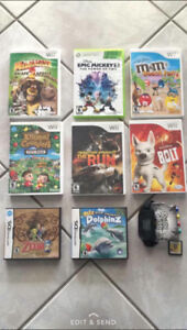 Wii/Xbox 360/Nintendo DS Games