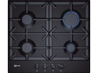 NEFF T26DS49S0 Black Gas Hob - Brand new (ordered in error)