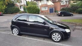 SOLD SOLD SOLD Vauxhall Corsa SXi 1.3 CDTi 2004 (04) 3 Door hatchback in stunning metallic black