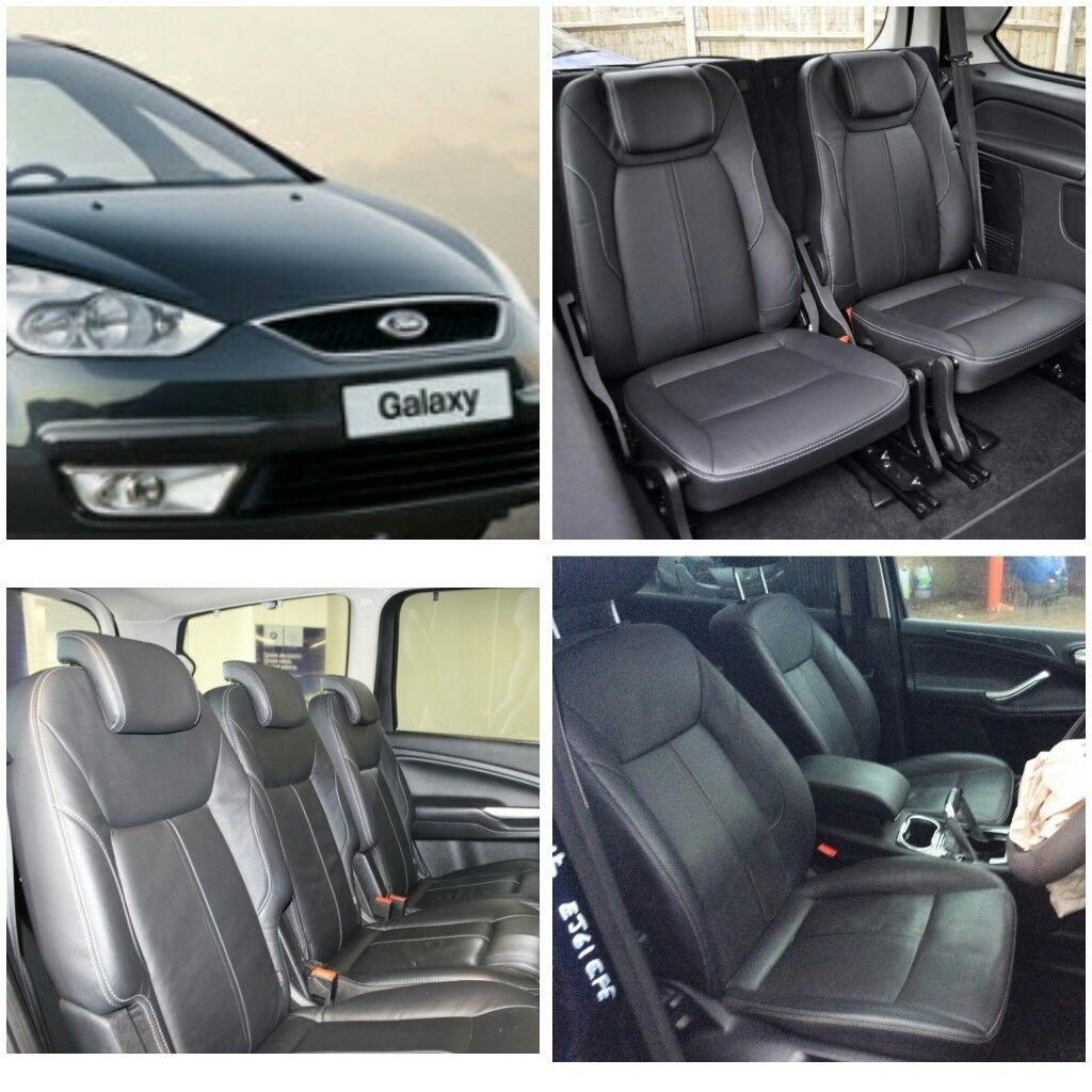 LEATHER CAR SEAT COVERS FORD GALAXY 1998-2018