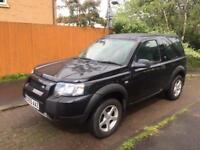Facelift model Land Rover freelander 2ltr td4 gs 55reg low miles 83000