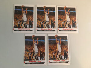 All 36 Stephen Curry 2013 NBA CHAMPIONS Rookie Basketball Cards