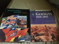 2 GCSE HISTORY BOOKS
