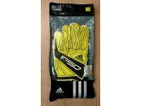 Adidas F50 Training Football Goalkeeper Gloves Adult Size 10