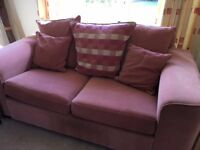 2 seater Sofabed and 3 seater sofa - Good condition
