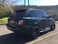 "2007 LAND ROVER RANGE ROVER SPORT HSE 3.6 TDV8 AUTO FULLY LOADED 22"" ONYX ALLOYS"