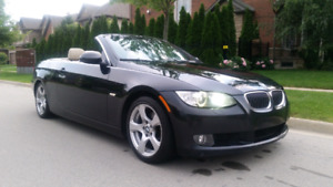 2007 BMW 328I CONVERTIBLE AUTOMATIC CERTIFIED / 1 YEAR WARRANTY