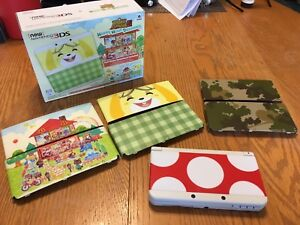Limited Edition *New* 3DS with Faceplates