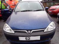 BREAKING --- Vauxhall Corsa SXI DTI 1.7L Diesel 74BHP -------- 2003