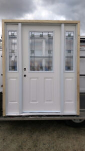 NEW FIBREGLASS ENTRANCE DOOR