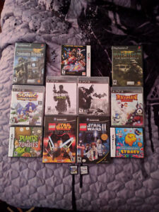 DS,3DS, Gamecude,PS3, PS4 Games