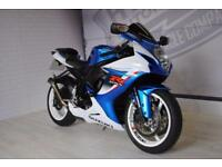 2013 - SUZUKI GSXR 600 L3, IMMACULATE CONDITION, £6,600 OR FLEXIBLE FINANCE