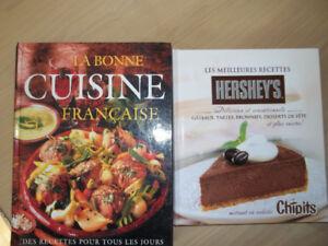 Livres et revues de cuisine
