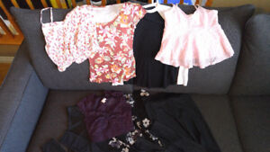 Lot of Garage Clothes - Tops, Tights, Sweater - Size XS