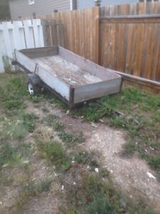 Utility/sled trailer for sale-Sold Pending Pick Up