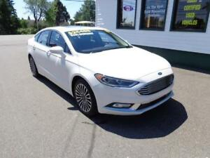 2017 Ford Fusion SE AWD for only $201 bi-weekly all in!