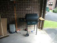 Gas BBQ with side hob burner. £40. Bradford, low Moor