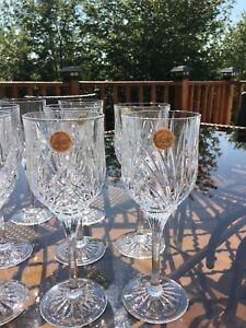 12 Cristal D'Arques (France) -Wine Glasses