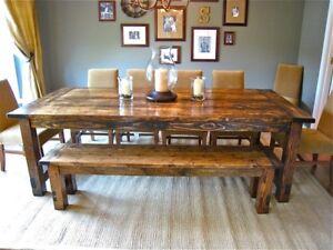 Brand new Rustic Farmhouse Table