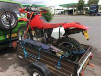 Versatile motorbike / box trailer