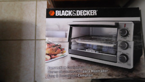 Toaster oven used