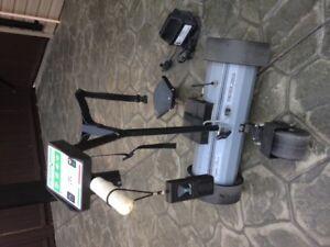 Lektronic Kaddy motorized walking cart