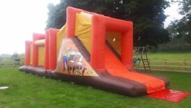 SELECTION OF BOUNCY CASTLES DISCO DOMES OBSTACLE COURSES FOR SALE