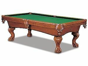 RELOCATE 4X8 SLATE POOL TABLE *FULLY INSURED *WORKMAN COMP