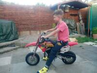 Mini motocross 50cc