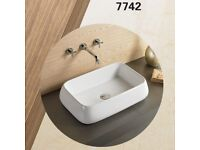 460mm round ceramic counter top basin