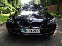 BMW 520D TOURING ESTATE LIKE BMW 520 530 M SPORT AUTO BLACK NOT 320D 330D 520D 530D SALOON