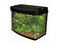 BRAND NEW 64L Panoramic Fish Tank and Stand BOXED