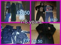 boys clothes 7-8 years collection from didcot or £20 the lot