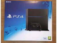 New PS4 500GB (Extra controller FREE)