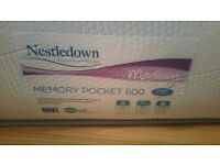 Nestledown Memory Pocket 600 Double Mattress
