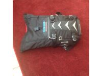 Motorcycle tank bag and tailpack