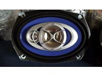 "JVC CSV 6934 3-way 6""x9"" speakers (pair)"