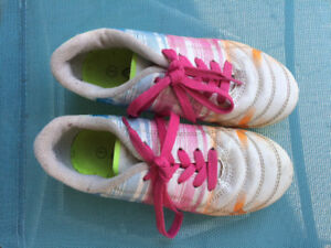 Girls Soccer shoes size 1, 2 and 4