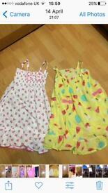Girls Aged 5-6 summer dresses