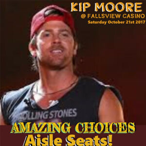 KIP MOORE @ FALLSVIEW CASINO –AMAZING CHOICES –FLOORS & MORE!