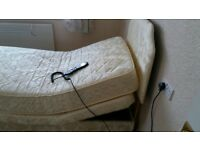 Adjustamatic Electric Single Bed