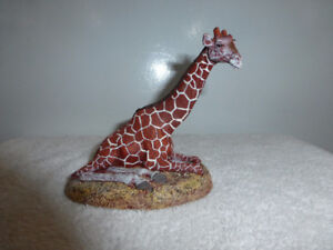 Numbered Limited Edition Sculpture of a giraffe