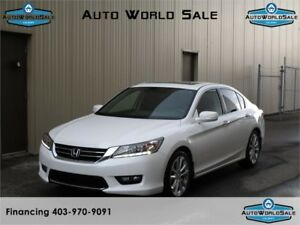2015 HONDA ACCORD TOURING- LEATHER/NAV/CAMERA