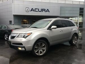 2013 Acura MDX ELITE | NAV | DVD | 7PASS | RAILS | TINT | AWD |