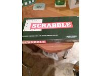 Scrabble board game new sealed