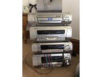 Rare DVD Stereo audio/video home sound system