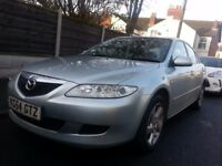 Mazda 6 1.8 Petrol MOT & TAX New Brekes(Disk and Pads) and Alternator
