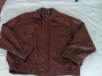 Gent's Tan Soft Leather Jacket – Like New