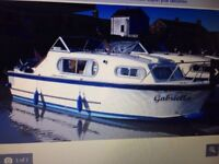 Freeman Cruiser 23 foot boat - river or canal