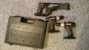 New Craftsman C3 drill and reciprocating saw